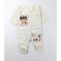 Комбинезон детский с микроначесом арт. CHG003 молочный