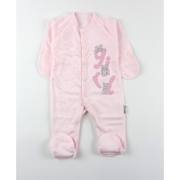 Комбинезон детский с микроначесом арт. КЛ.310.009.0.281.055 розовый