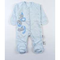 Комбинезон детский с микроначесом арт. КЛ.310.009.0.281.055 голубой