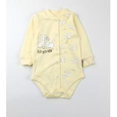 Боди детское арт. КЛ.290.040.0.280.005 желтый