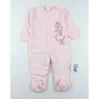 Комбинезон детский с микроначесом арт. КЛ.310.005.0.281.055 розовый