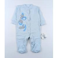 Комбинезон детский с микроначесом арт. КЛ.310.005.0.281.055 голубой