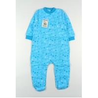 Комбинезон детский с микроначесом арт. 120ф голубой