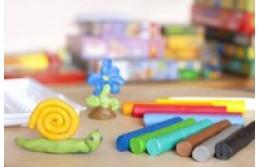 Лепка для детей с помощью различных материалов