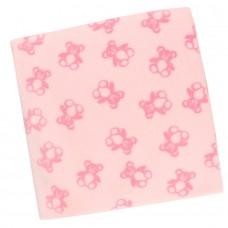 Плед флисовый детский арт. ФС розовый
