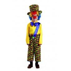 """Карнавальный костюм """"Клоун Петя"""" арт.8043 Карнавальная ночь"""