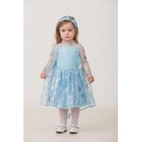 Карнавальный костюм Принцесса Эльза (текстиль) Дисней 7072