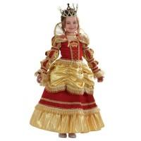 """Карнавальный костюм """"Королева Золотая"""" арт.479 Звездный маскарад"""