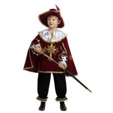 "Карнавальный костюм ""Мушкетер бордо"" арт.401-1 Звездный маскарад"