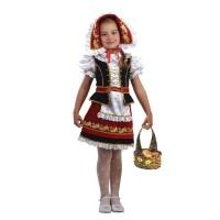 "Карнавальный костюм ""Красная Шапочка"" арт.945 Карнавал-премьер бархат"
