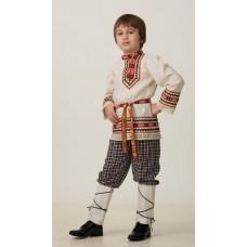 """Славянский костюм """"Рубашка вышиванка"""" (мальчик) арт.5603-1"""