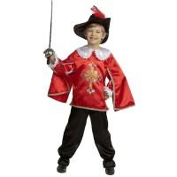 """Карнавальный костюм """"Мушкетер"""" арт. 7003-2 Карнавальная ночь красный"""
