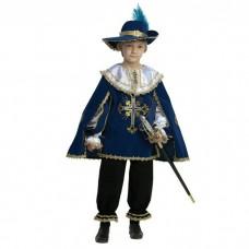 "Карнавальный костюм ""Мушкетер"" арт.401-2 Звездный маскарад синий"