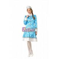 """Карнавальный костюм """"Снегурочка сказочная"""" для взрослых арт.5219"""