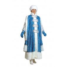 """Карнавальный костюм """"Снегурочка Боярыня"""" для взрослых арт.1112"""