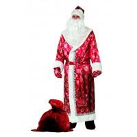 """Карнавальный костюм """"Дед Мороз"""" для взрослых арт.188 р.54-56"""