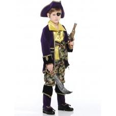 """Карнавальный костюм """"Капитан Пиратов"""" арт.924 Карнавал-премьер лиловый"""